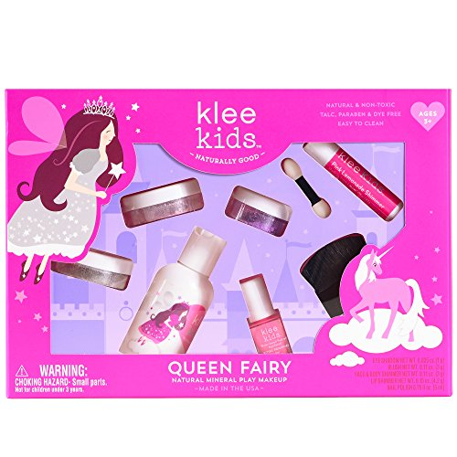Luna Star Naturals Klee Kids Natural Mineral Makeup 6 Piece Kit, Queen Fairy