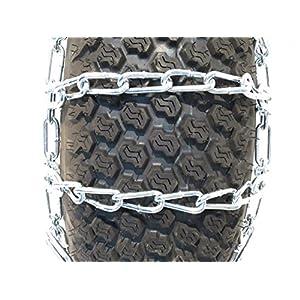 ALEKO Size 16 x 6 Snow Blower Chains Mud Chains Grip for Garden Tractors