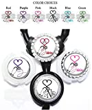 personalized stethoscope - Personalized Medical Stethoscope Heart Standard or Yoke Stethoscope Id Tag