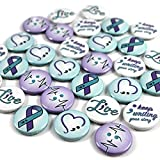 Semicolon/Suicide Awareness Mini Buttons