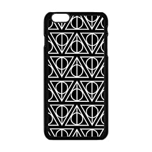 Simple black triangle pattern Cell Phone Case for iPhone plus 6
