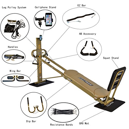 GR8FLEX Total Performance Gym – Golden XL Model