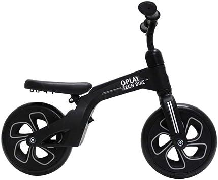 QPLAY - Bicicleta sin Pedales Tech Balance Bike Negra - Asiento ...