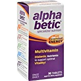 Alpha Betic Multivitamin Plus Extended Energy 30 tablets