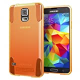 Hyperion Oracle TPU Protective Case for Samsung Galaxy S5 / SV Cell Phone (Fits Standard Size Battery for all US and International Models) - ORANGE