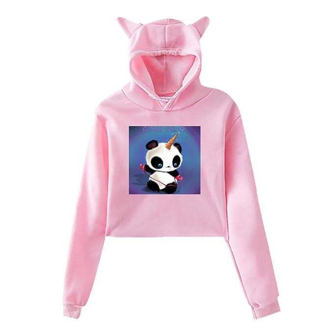 2acd2e3535 Amazon.com: Shadidi Girls Womens Cutest Overload Unicorn Panda Cute ...