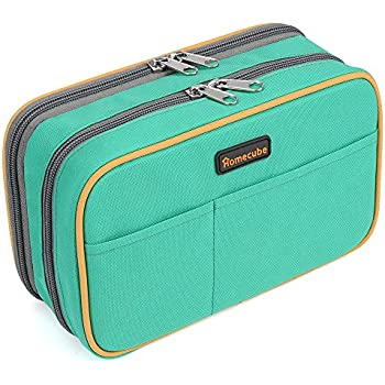 .com : Homecube Big Capacity Pencil Case, Green : Office Products