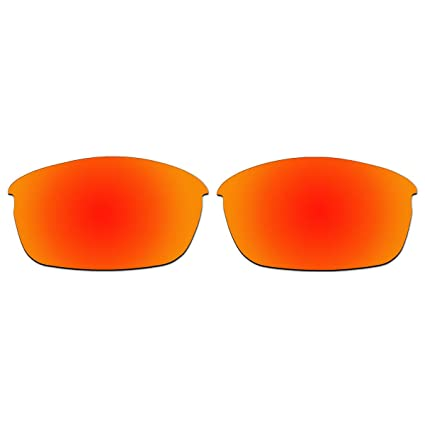 d8c80a58d59 Amazon.com  ACOMPATIBLE Replacement Fire Red Polarized Lenses for Oakley  Flak Jacket (Asian Fit) Sunglasses  Sports   Outdoors