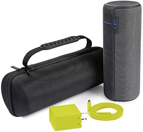 Yudanny Dur EVA Carry Case Sac de Rangement bo/îte pour UE Megaboom sans Fil Bluetooth Haut-Parleur