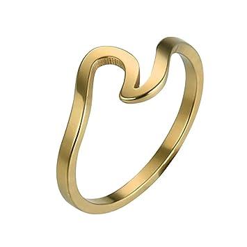 Day Lin Ringe Fur Damen Ring Damen Der Herr Der Ringe Wave Ring