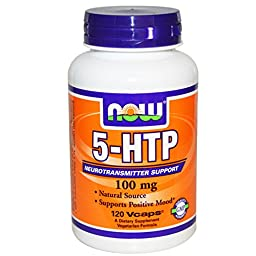 5-HTP 100mg 120 VegiCaps (Pack of 2)