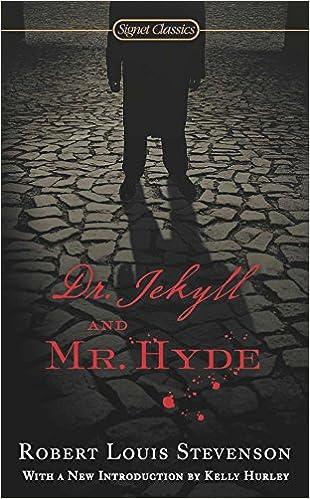 Dr Jekyll And Mr Hyde Signet Classics Robert Louis Stevenson