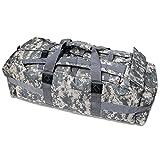Digital Camo Military Field Gear Duffle Bag Backpack by Mojo Paintball