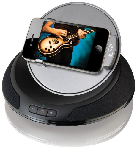 iLive iSP391B App-Enhanced Speaker with Rotating Dock for iPhone/iPod by iLive