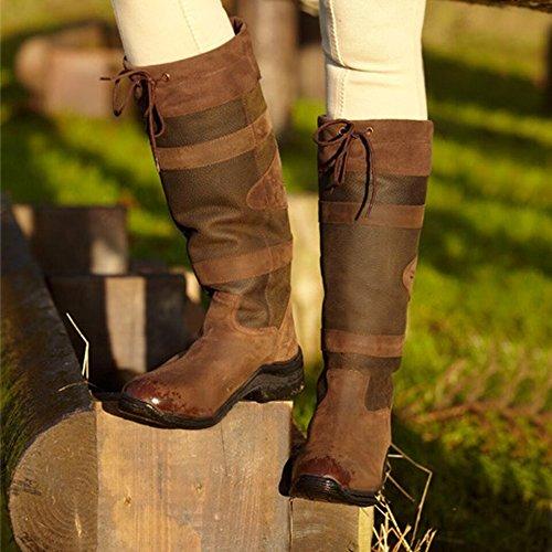 Tutte Taglie 43 Lungo 36 A Avvio Piedi A Equestre Le Paese Toggi Adulti Cavallo Calgary qSw7v