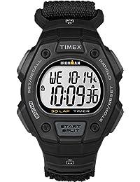 Timex TW5K90800GP Ironman 30 Lap Black with Black Velcro Strap Watch