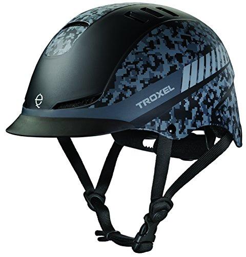 TROXEL Performance Headgear Troxel Black Digi Camo TX Helmet L