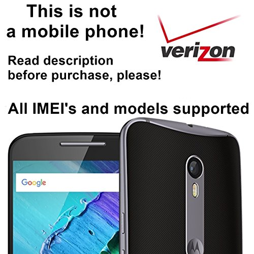 Verizon USA Factory Unlock Service for Motorola Mobile Phones - All IMEI`s Supported - Feel the Freedom