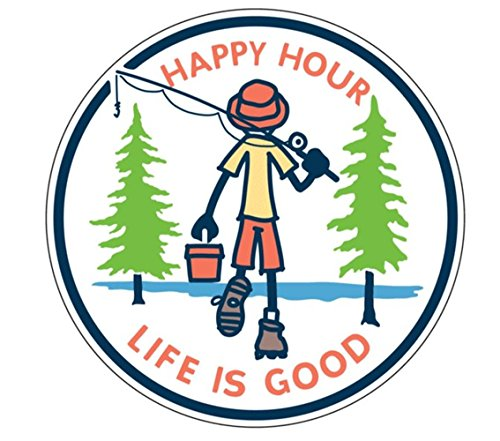 Life Good Unisex Happy Sticker product image
