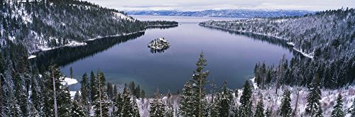 Emerald Bay, Lake Tahoe, CA by Panoramic Images Art Print, 52 x 17 inches from Great Art Now