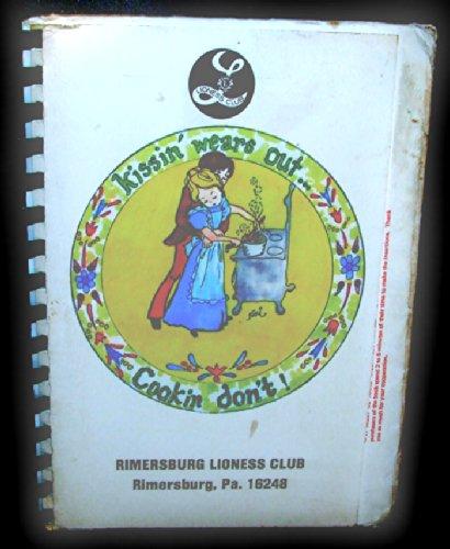 1981 Lion's Club / Lioness Club Fundraiser Cookbook - Rimersburg, PA