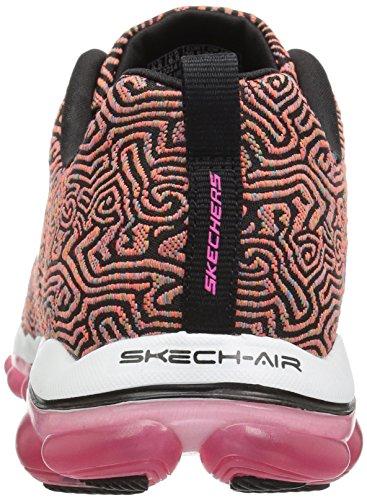Skechers Sport Mujeres Skech Air 2.0 Pathways Moda Sneaker Negro / Multi