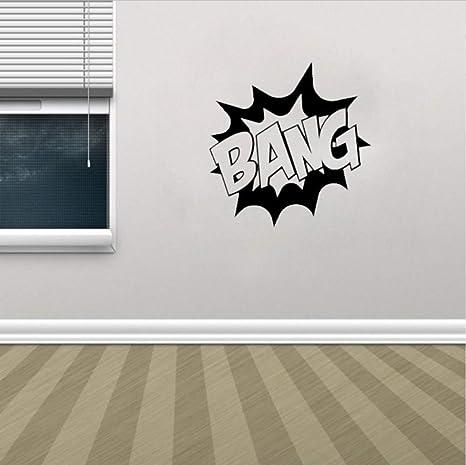 Olivialulu película de superhéroes tatuajes de pared Bang vinilo ...