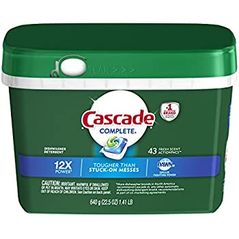 Amazon.com: Cascade Complete ActionPacs, Dishwasher