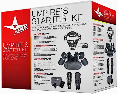 AllStar CKUMP Adult One Size Umpire Starter Kit (Black) by All-Star