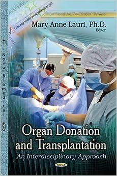 Book ORGAN DONATION TRANSPLANTATION (Organ Transplantation Research Horizons)
