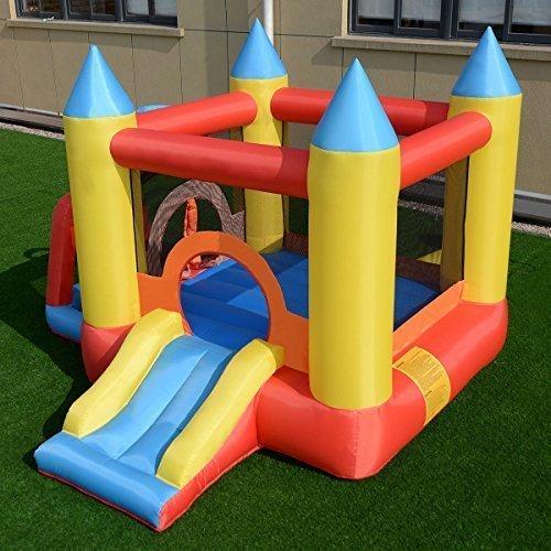 Buy costway inflatable mighty bounce house jumper castle moonwalk