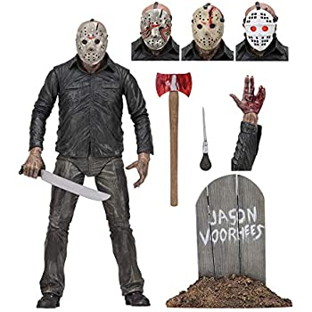 NECA Jason Part 3 & Jason Part 4-7 action figure 2-pack Friday the 13th