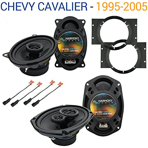 Fits Chevy Cavalier 1995-2005 Factory Speaker Upgrade Harmony R46 R69 Package New