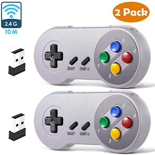 Amazon.com: 2 Pack 2.4 GHz Wireless USB Controller ...