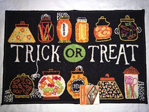 Halloween Rugs (Midnight Market Halloween Printed Rug (Trick or Treat) 19.7in X29.9in)