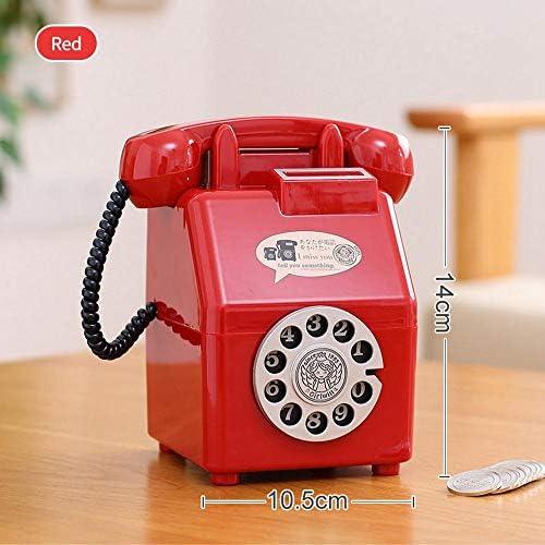Teléfono móvil Retro Dinero para niños Caja de plástico Creativa ...