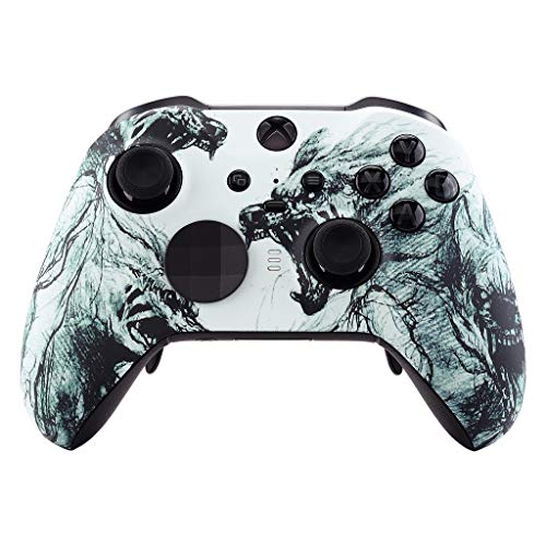 Wolf UN-MODDED Custom Controller Compatible with Xbox ONE Elite Series 2 Soft Touch Finish