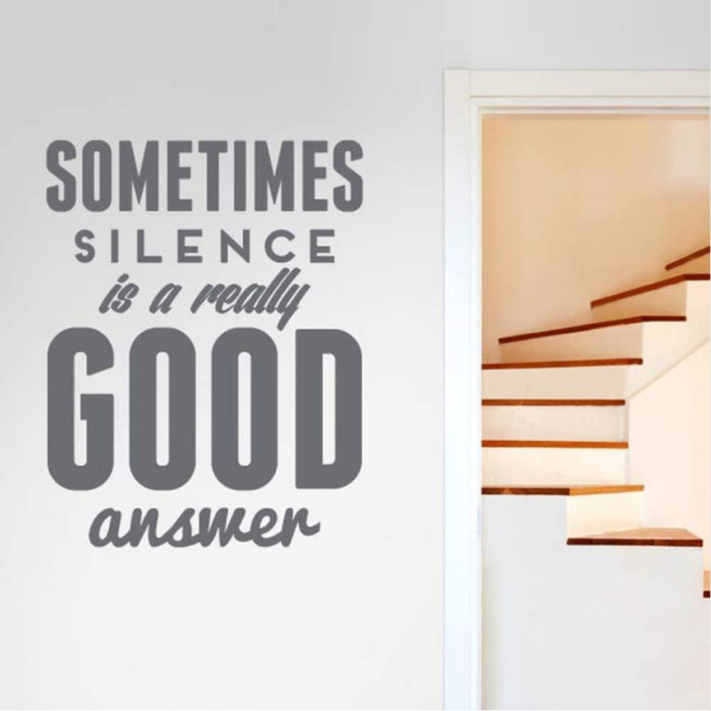 Lbonb A Veces, El Silencio Es Una Respuesta Realmente Buena ...