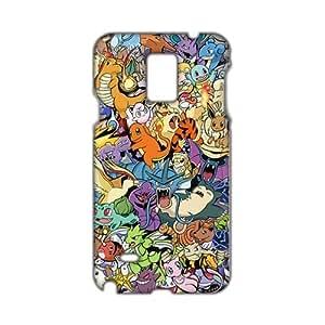 Evil-Store Pokemon unique cartoon design fashion 3D Phone Case for Samsung Galaxy Note4 WANGJING JINDA