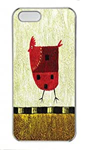 Abstract Paint pragmatic PC Transparent For SamSung Galaxy S3 Phone Case Cover - Chicken