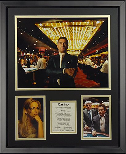 (Legends Never Die Casino Framed Photo Collage, 16