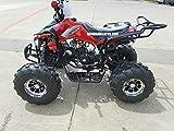 125cc Sports ATV 8'' Tires with Reverse, Blue
