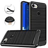 Google Pixel 3 XL Case, Dretal Carbon Fiber Shock...