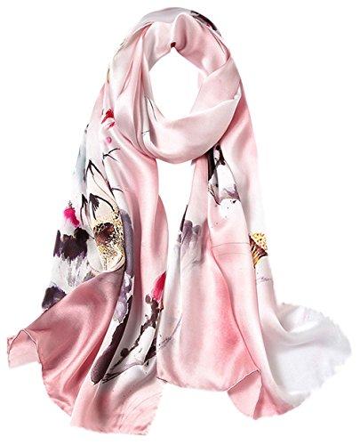 Uv Femme Plage Longue Impression Rosa Ete Coloré Mélangées Géométrie Foulard 5 Echarpe All En Couleurs Anti De 3 Soie Tourisme 6qInEw