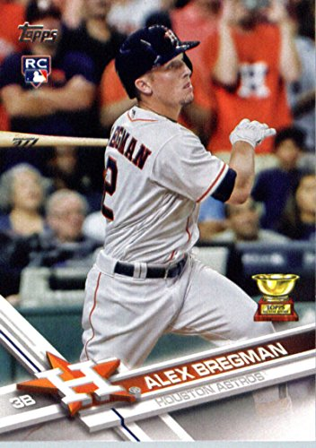 2017 Topps #341 Alex Bregman Houston Astros Baseball Rookie Card