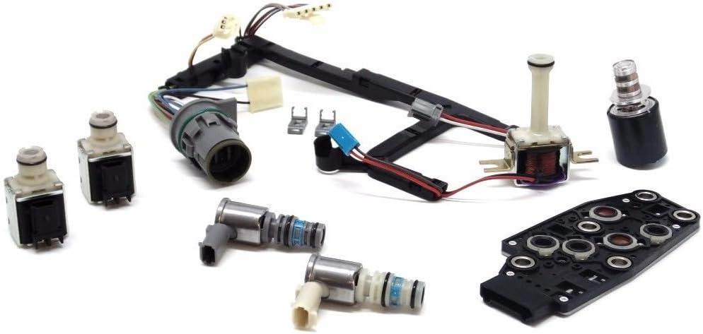 Hot 4L60E Transmission Master Solenoid Kit TCC EPC PWM Shift 3-2 Harness 93-05 S