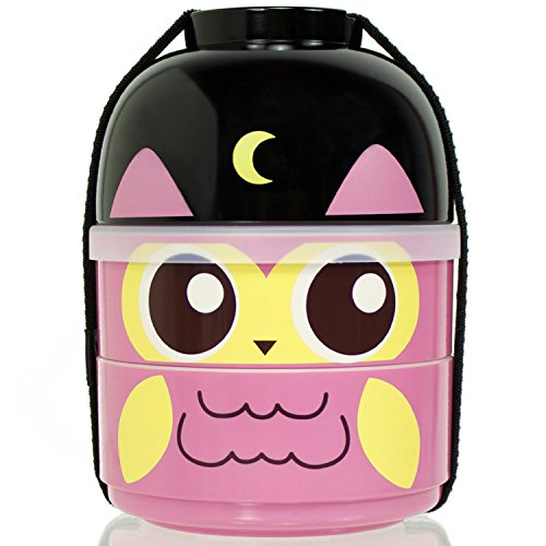 CuteZCute 2 Tier Bento Lunch Container