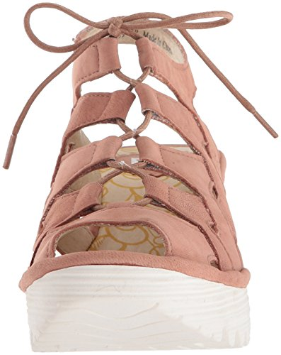 Fly London Kvinners Yexa916fly Kile Sandal Rose Cupido ...