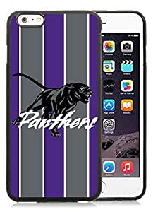 Southwestern Athletic Conference SWAC Football Prairie View AM PVAMU Panthers(1) Black iPhone 6 Plus 5.5 inch TPU Cellphone Case Luxurious and Newest Design