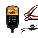 WirthCo 20063 Battery Doctor Black CEC Certified Wall Mount Battery Charger and Maintainer (12V, 2 Amp)